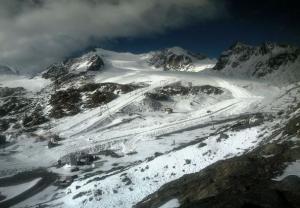 Pitztaler Gletsjer foto
