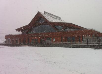 Tignes - skigebied sneeuwval