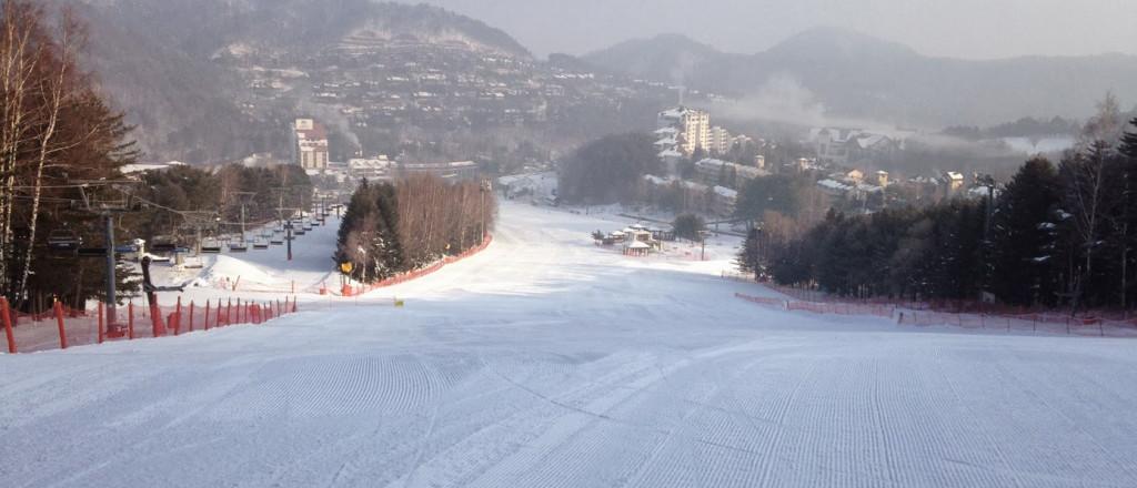Skigebieden zuid korea