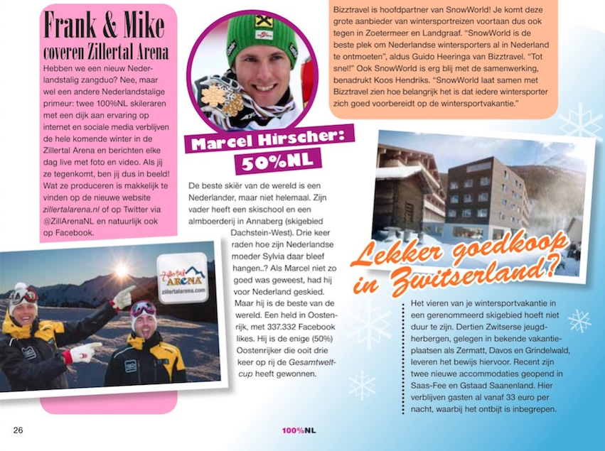 100% NL wintersportmagazine