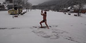 het gevoel bij sneeuw