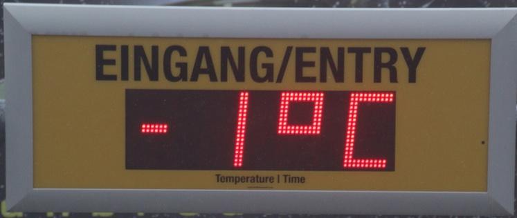 temperatuur daling