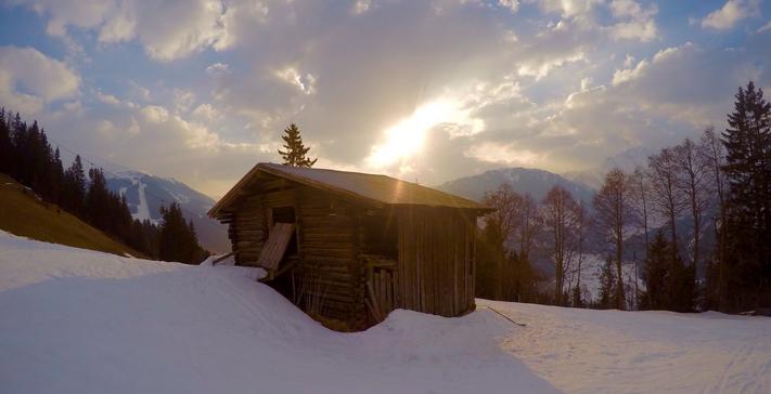 Lente skien wintersport