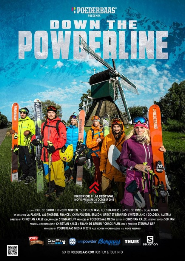 Poederbaas freeride film