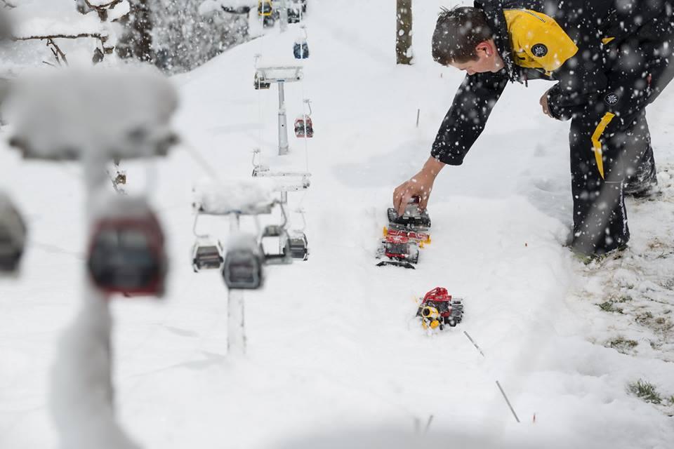 Miniatuur skilift (Foto: Zillertal Arena/Johannes Sautner)