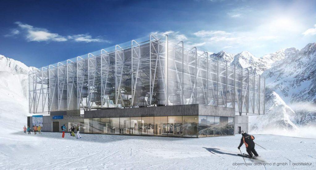 Giggijoch Mountain Gondola Solden - Skiinformatie.nl