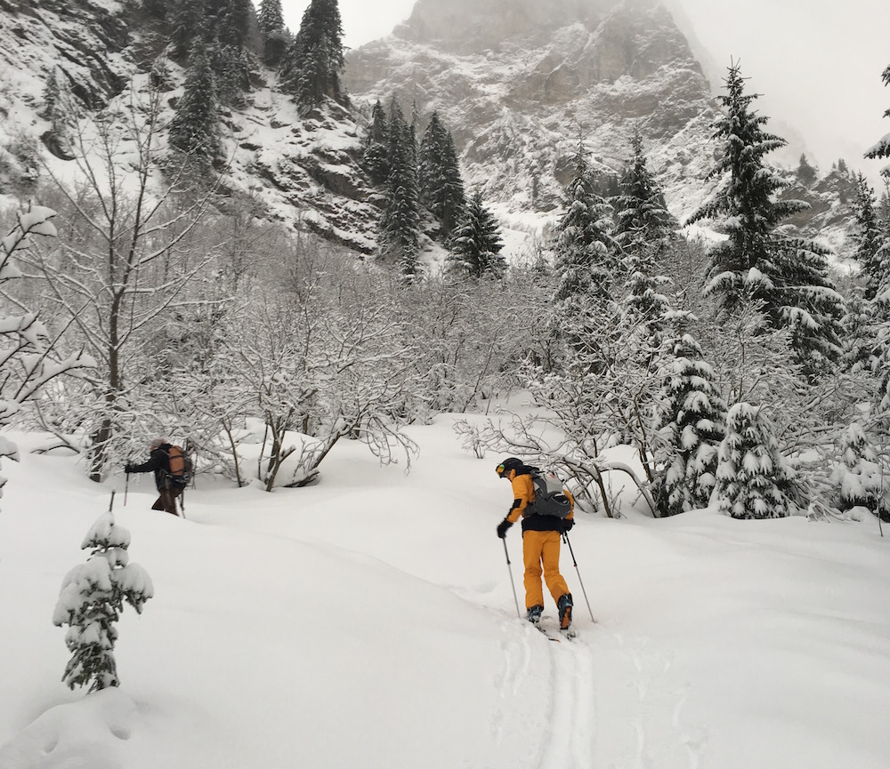 ski touren skitoer