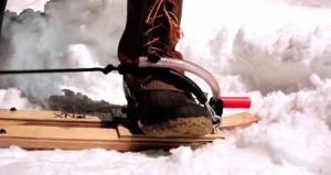 Snowboarding trend -