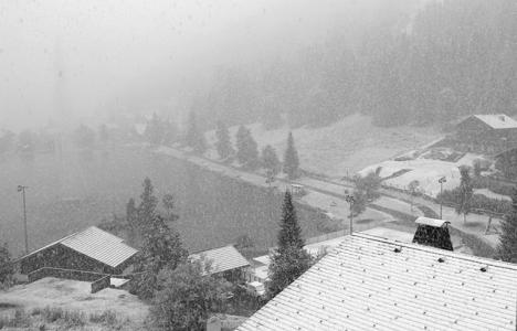 Portes du Soleil - sneeuwval