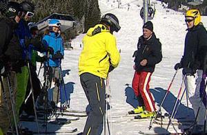 Skileraren toestemming
