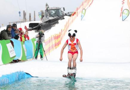 Splash contest Zell Am See