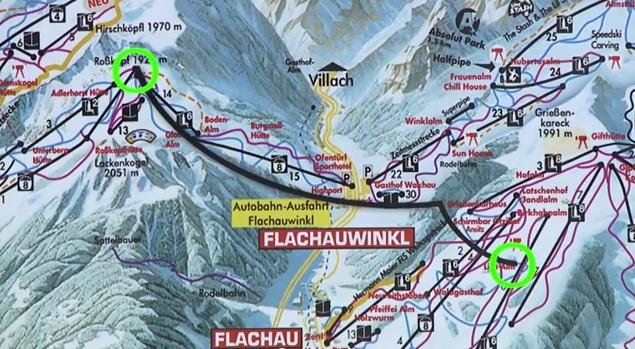 Gondellift Flachau Zauchensee