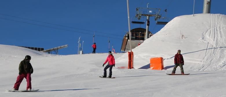 snowboarden vs skien