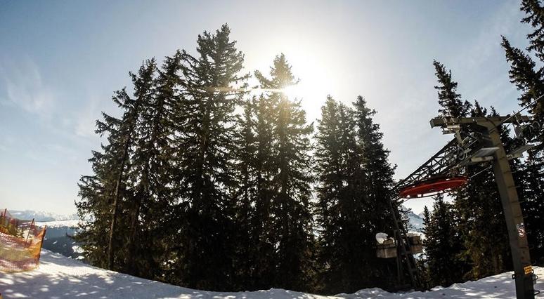 Lente skien