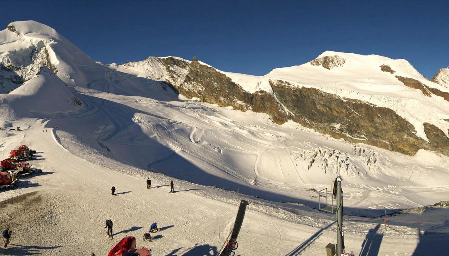 alle gletsjers in zwitserland