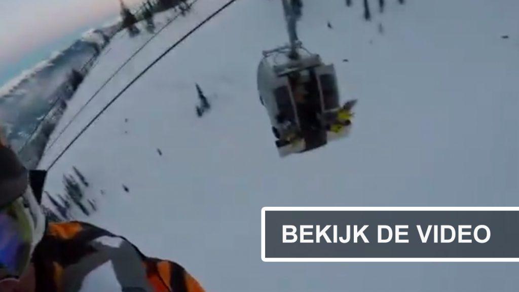 reddingsactie bergredding video