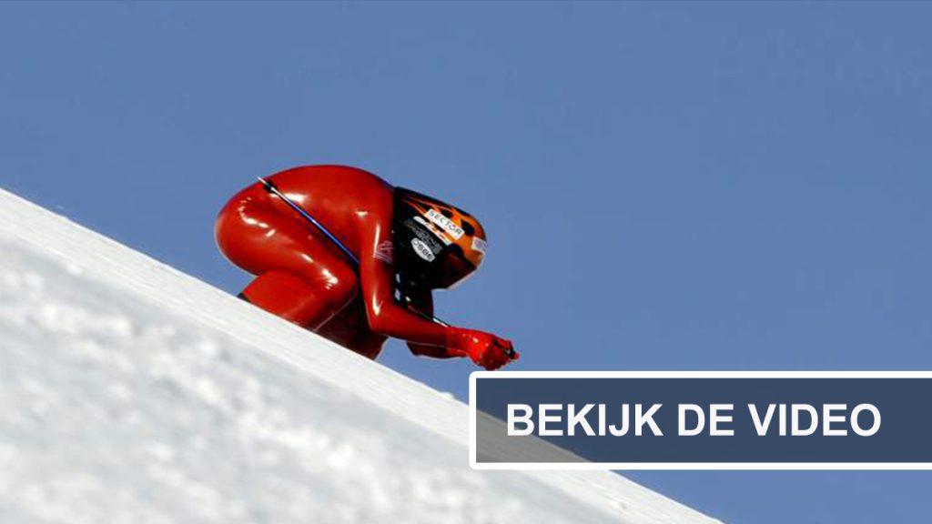 speed skier