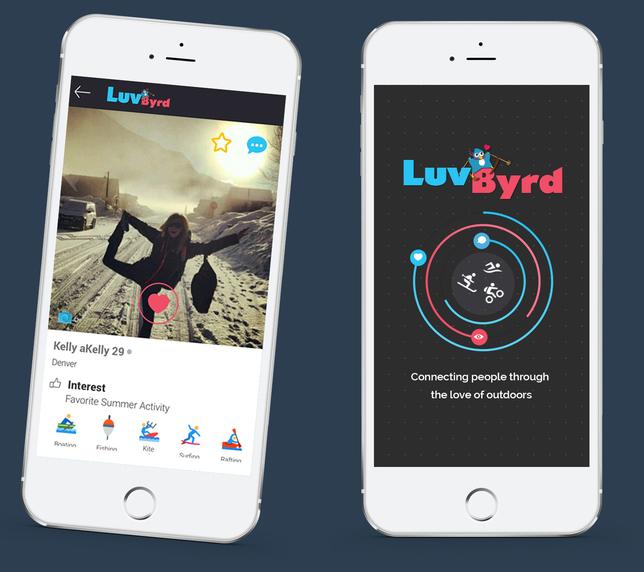 Outdoor dating app