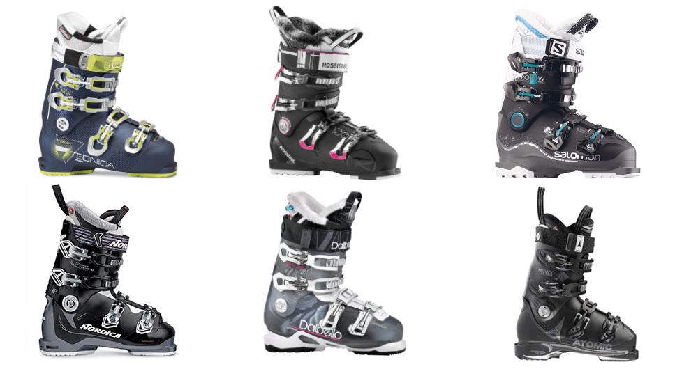 De beste dames skischoenen van 2016 2017