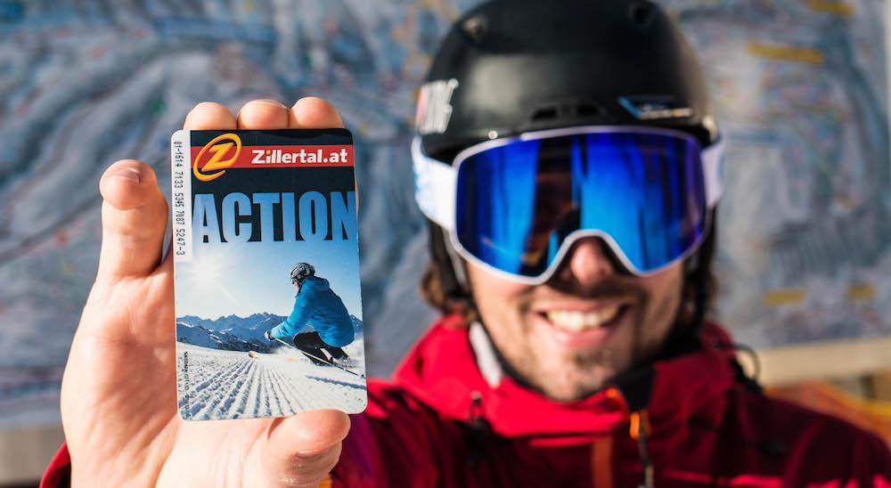 Zillertaler Superskipass online skipas kopen Zillertal Arena