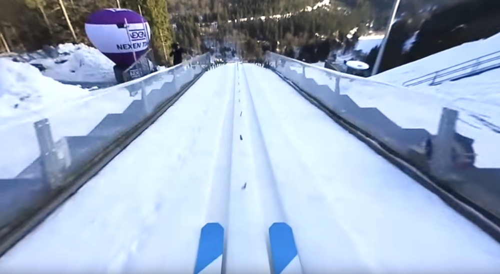 360 beelden van de grootste skischans ter wereld - Schans handig ...