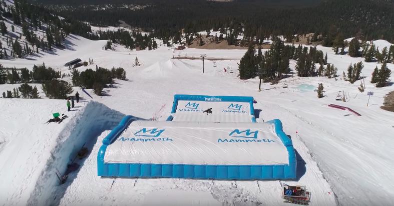 Nieuwe airbag achter skischans ontwikkeld voor skigebieden - Schans handig ...