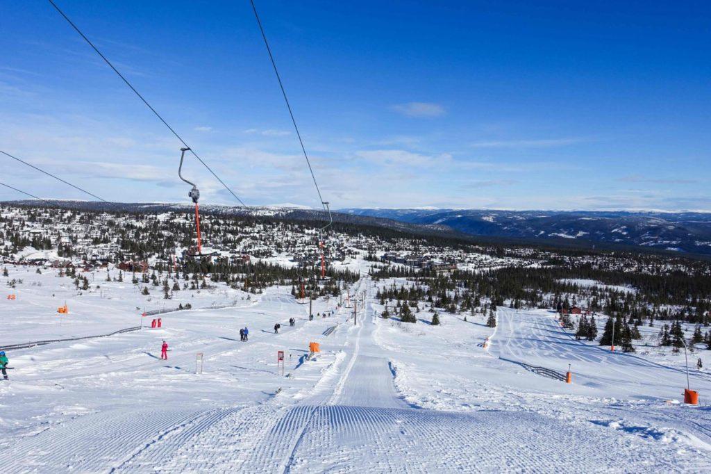 Wintersport Trysil: piste en uitzicht