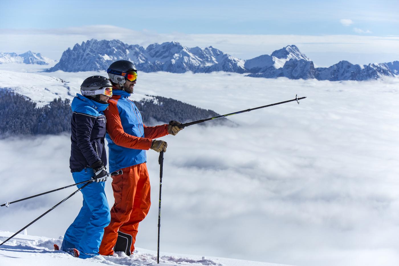 Nieuwe Verbinding Maakt Skiën Van Oostenrijk Naar Italië