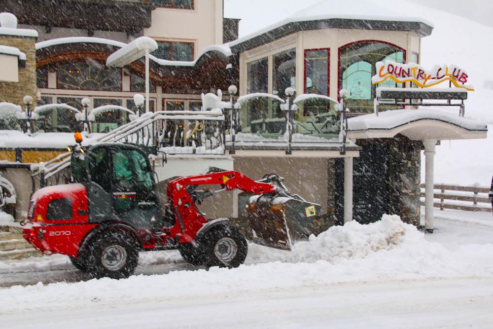 Country Club après-ski bar in Gerlos