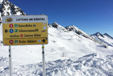 Wintersport in Kuhtai