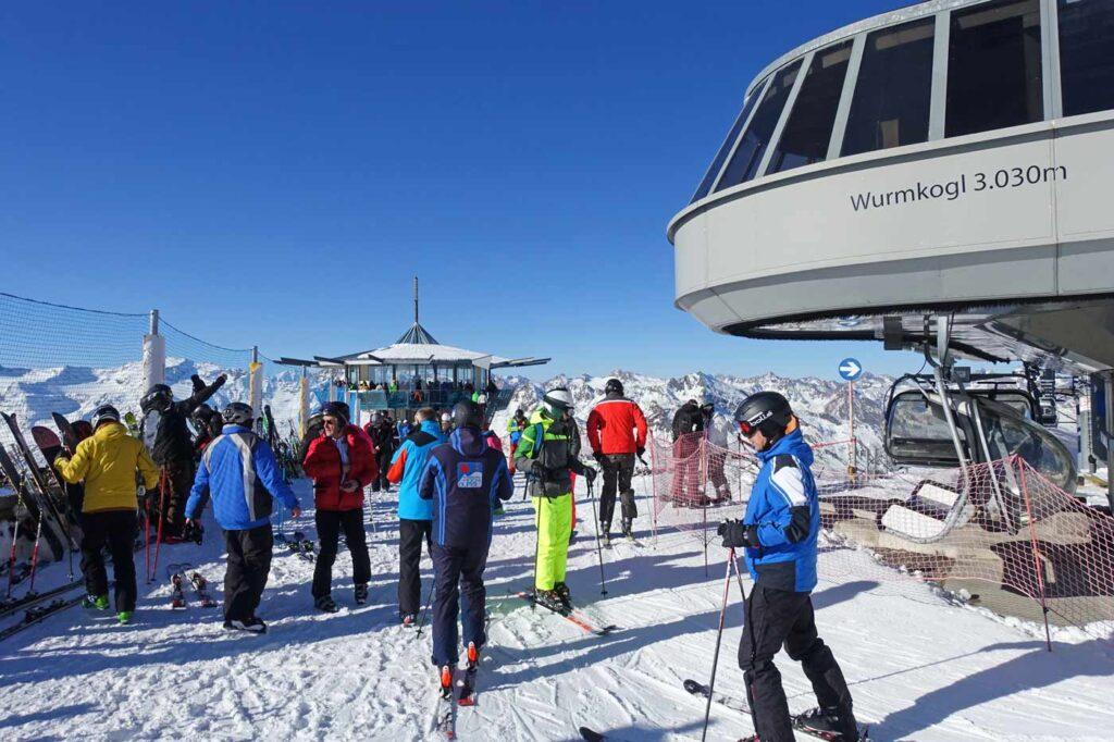 Skilift skigebied Obergurgl Hochgurgl