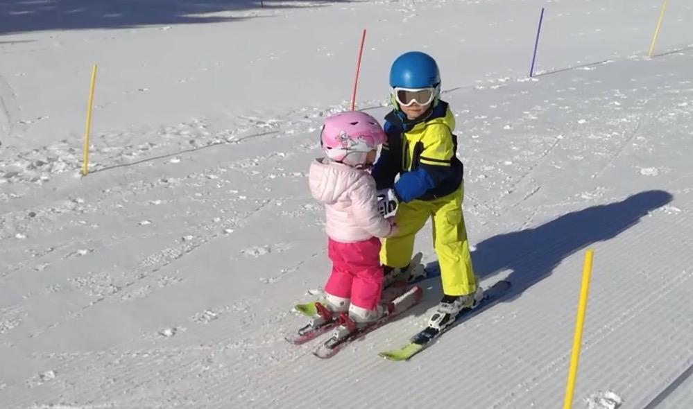 jongste skileraar ter wereld