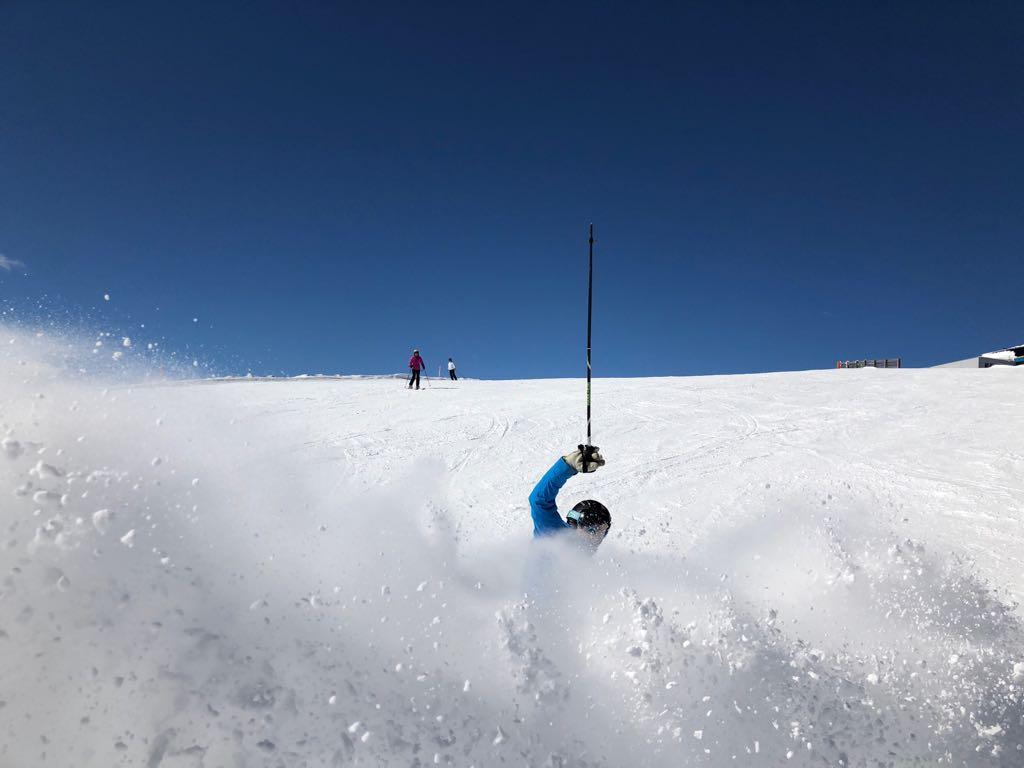 Skiën A1 Autobahn Katschberg