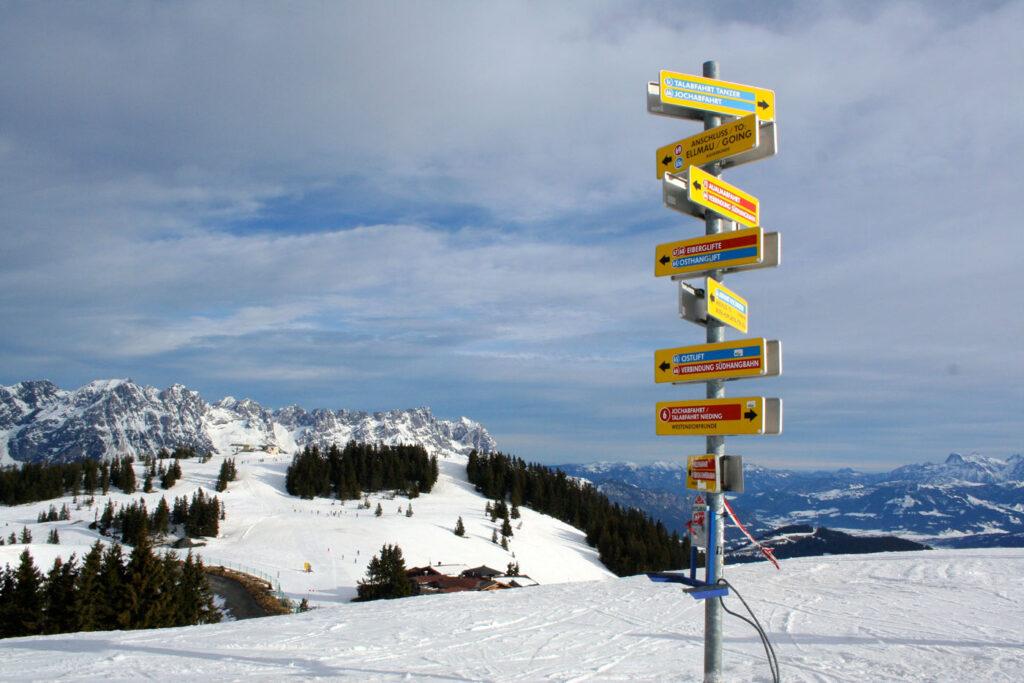 SkiWelt bereik je eenvoudig zonder vignet Oostenrijk.