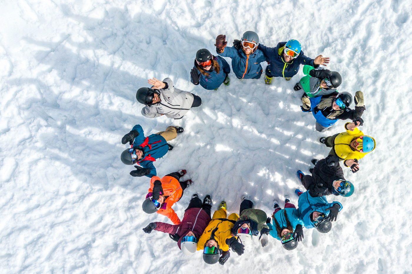 Berichterstattung über den Wintersport