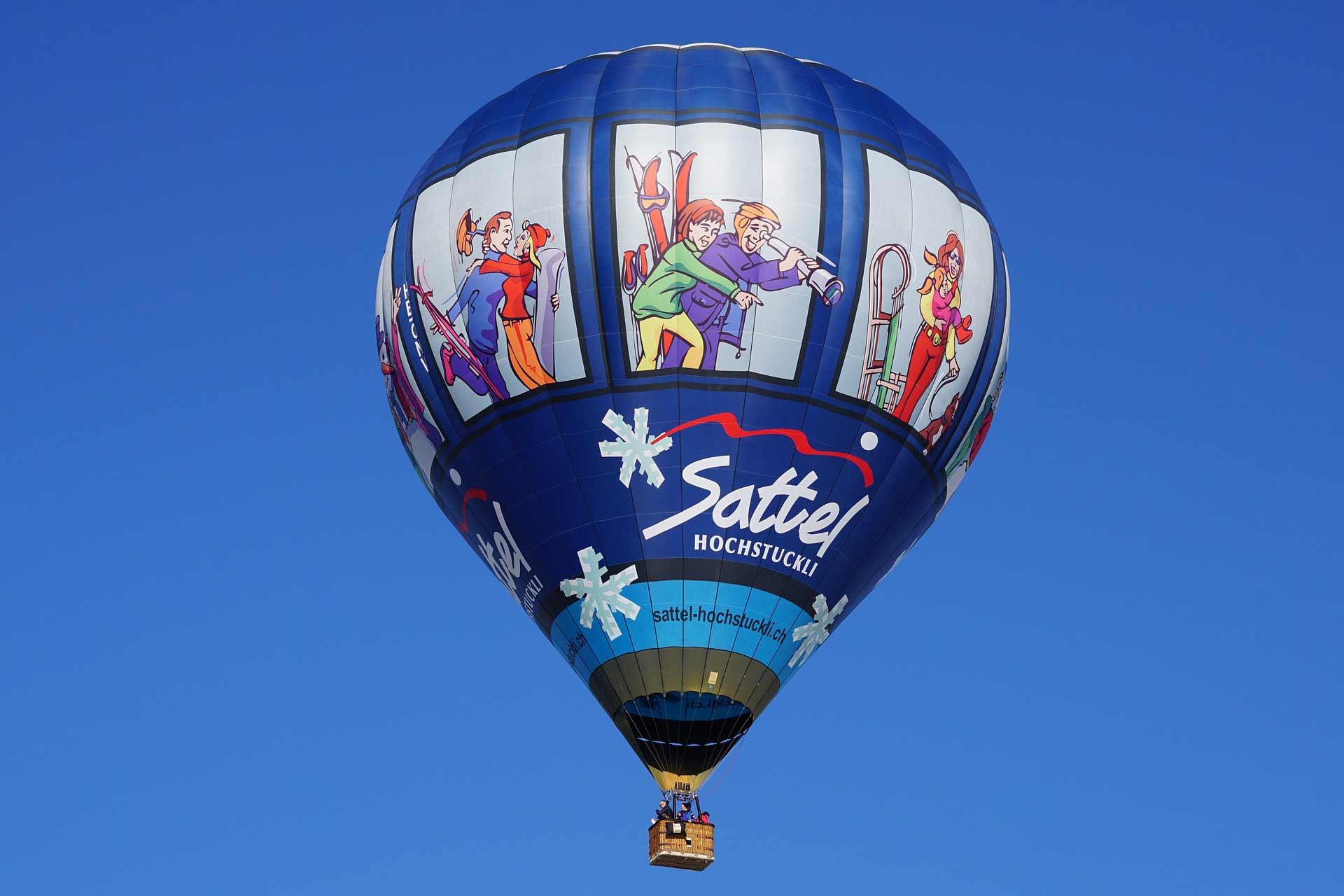 Luchtballon tijdens de Night of the Balloons