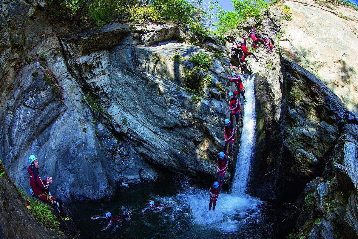 Arbeiten im Ötztal - Canyoning Guide 2019