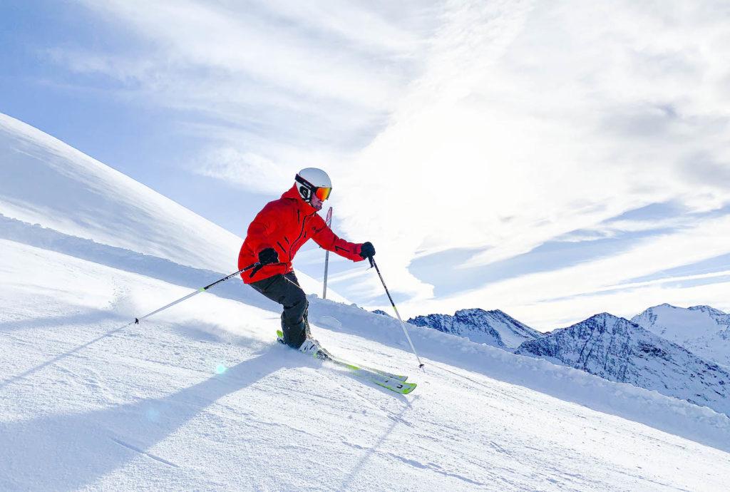 Skiën op de pistes van Obergurgl-Hochgurgl