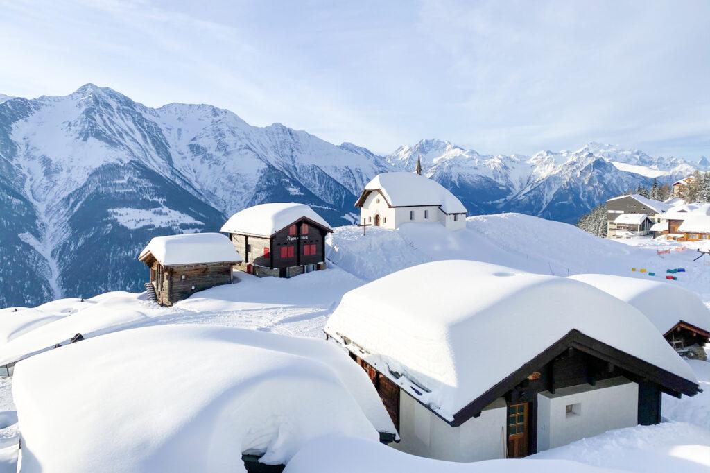 Sneeuwzekere skigebieden wintersport Kerstvakantie 2021/2022