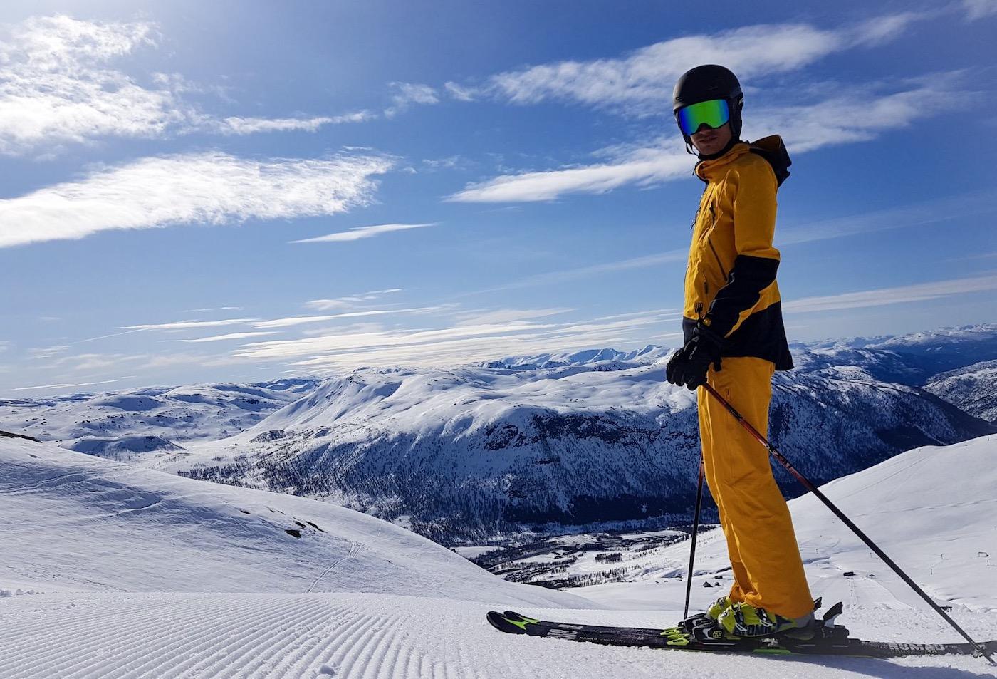 Wintersport Myrkdalen Noorwegen Uitzicht