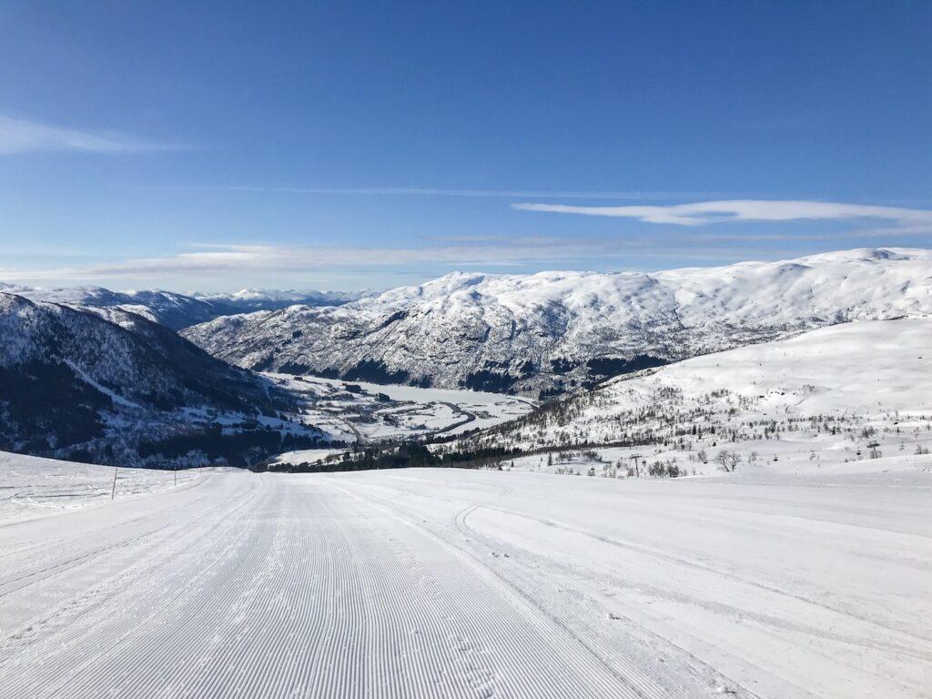 Wintersport in februari 2022 in Noorwegen