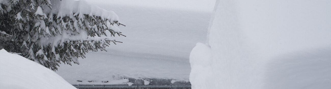 Verse sneeuw, neuschnee Oostenrijk