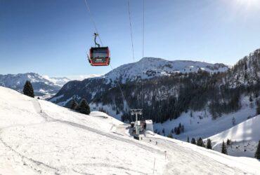 Gondellift op de Kitzbüheler Horn in skigebied Kitzbühel en Kirchberg
