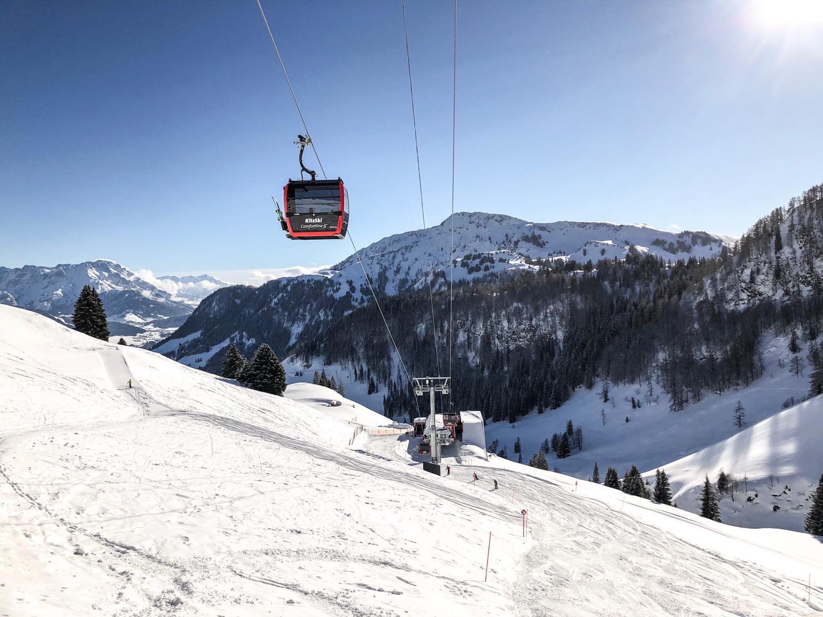 Nieuwe lift Kitzbüheler Horn