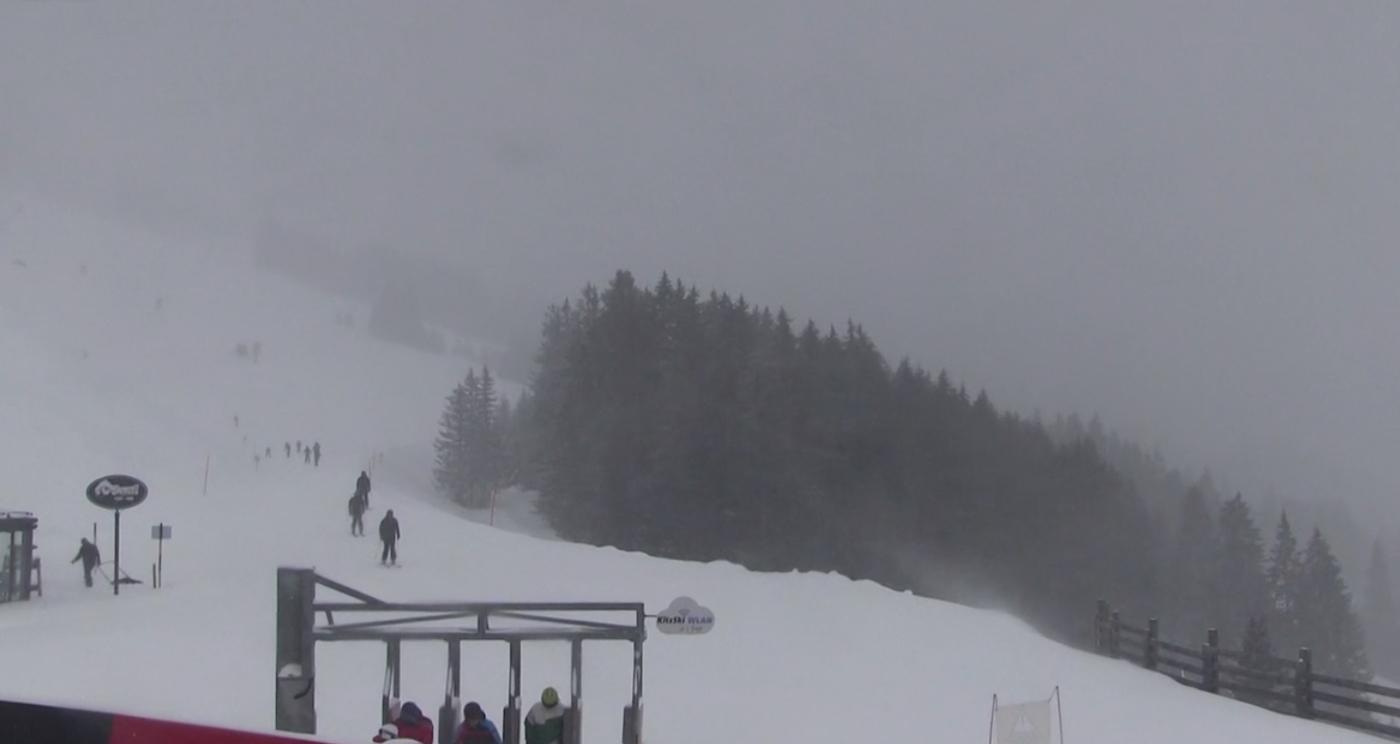 Webcambeeld van Kirchberg op 11 februari 2019