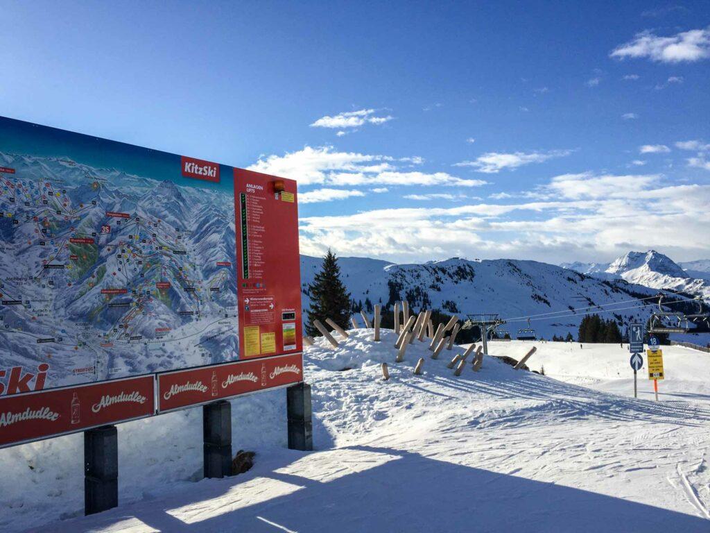 Wintersport in Kitzski