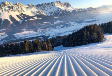 Piste met ribbels in SkiWelt Wilder Kaiser - Brixental (Kitzbüheler Alpen in Tirol)