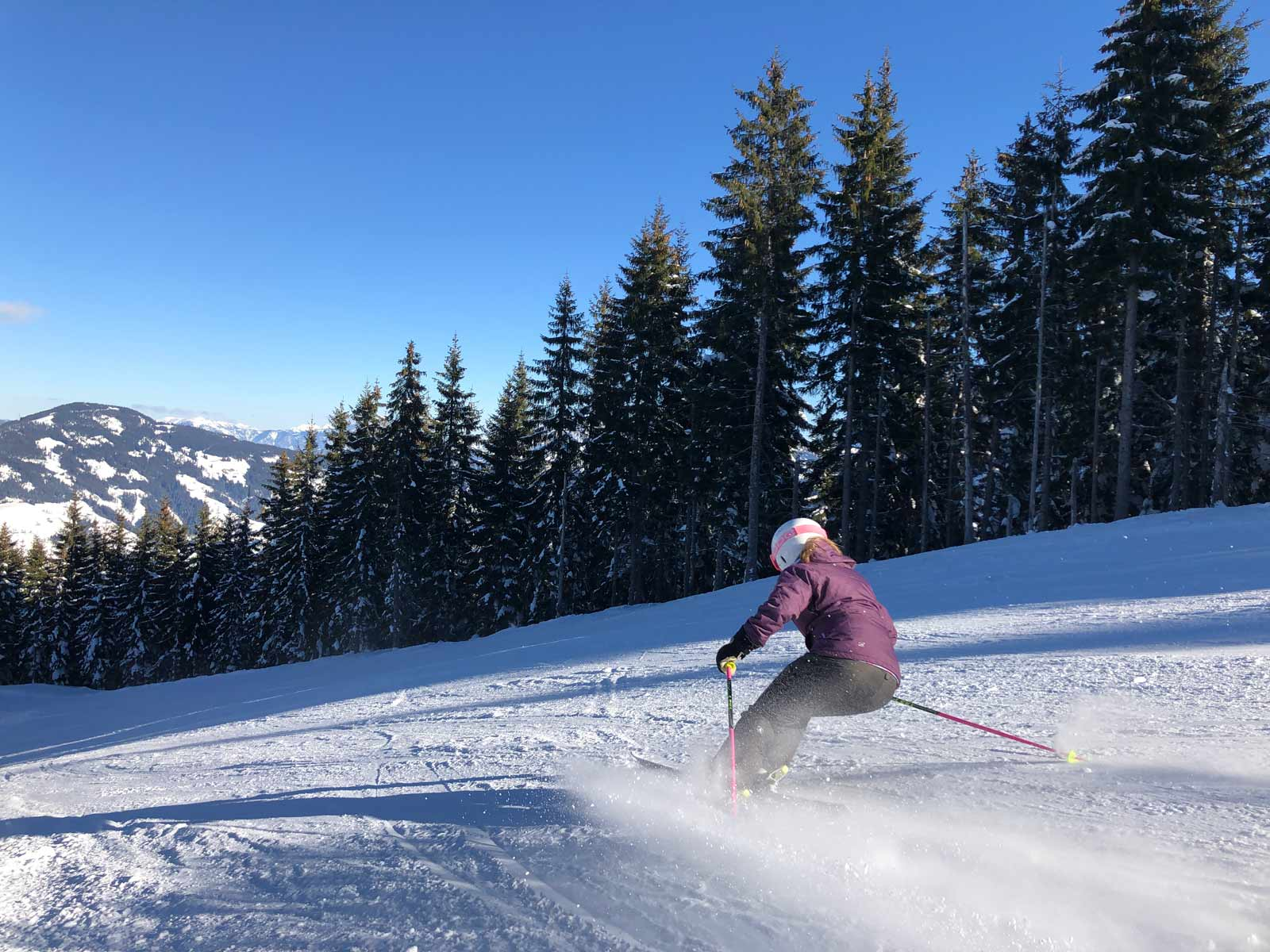 SkiWelt-Tour skiën