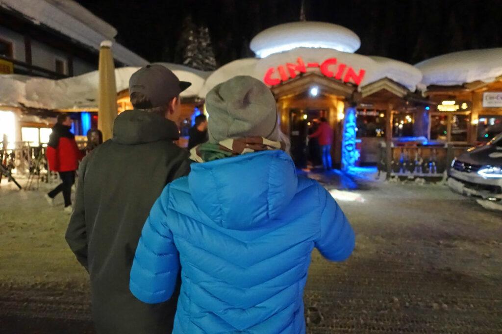 Après-ski in Gerlos in de Cin Cin