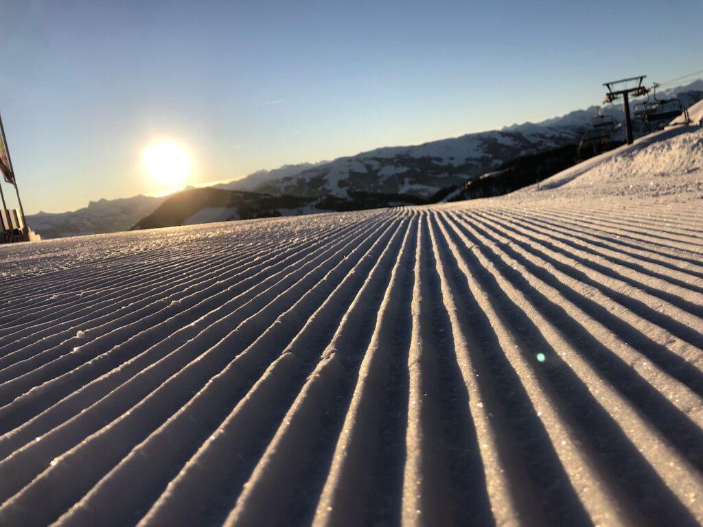 Genieten van de rust in een skigebied zonder après-ski
